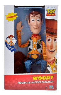 Muñeco Toy Story 4 Woody Interactivo 15 Frases 35cm Original