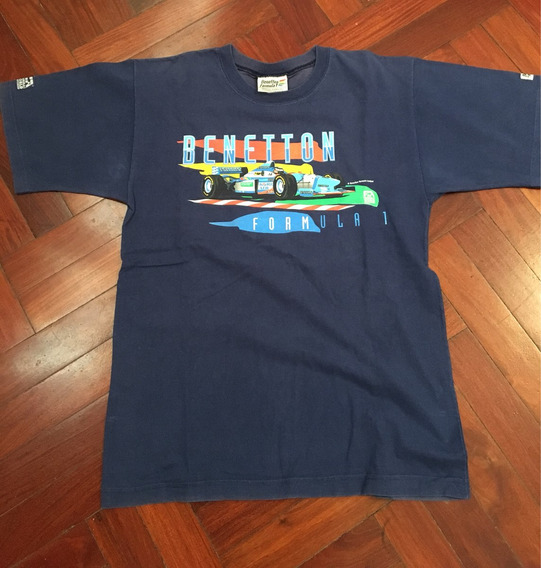 Remeras Formula 1 Precio X Las 2 Benetton F1 Y Williams F1.