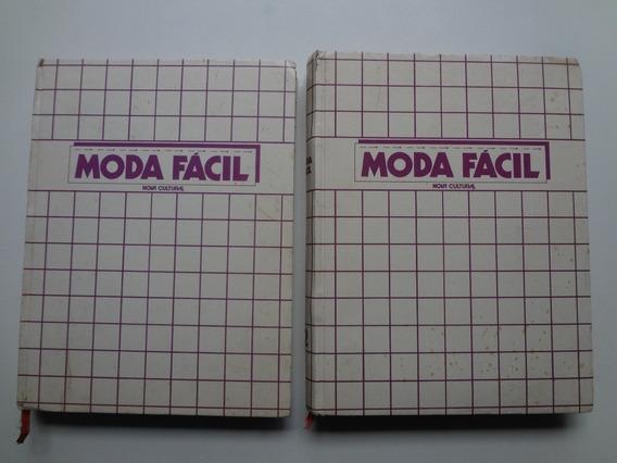 Livros Moda Fácil Nova Cultural Volumes 1 E 2