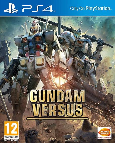 Ps4 Gundam Versus Novo Lacrado