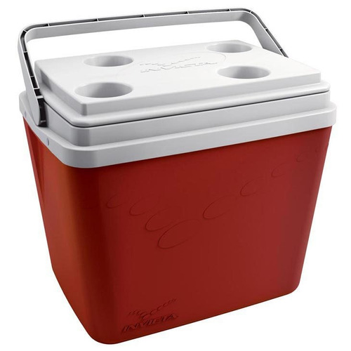 Caixa Térmica 34 Litros Invicta Vermelha