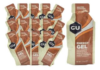 Kit Gu Energy Gel Caramelo 32gr 24 Unidades