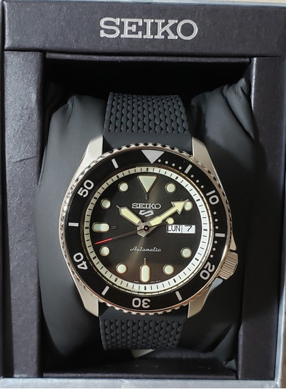 Novo Seiko 5 Sports - Srpd73k2 *black Friday*