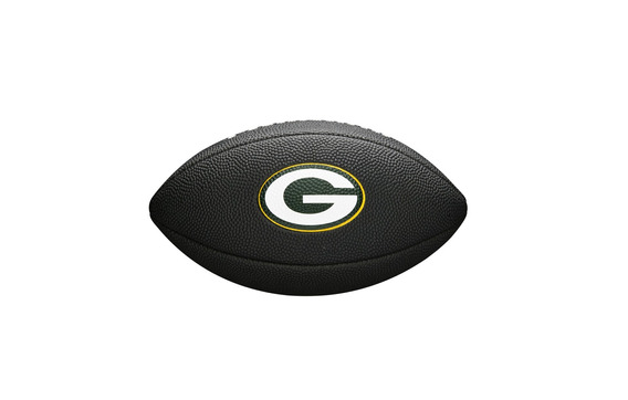 Bola De Fut. Americano - Nfl®team Logo Jr Black - Green Bay