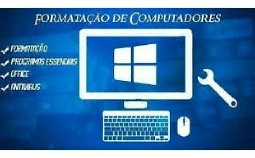 Imagem 1 de 3 de Formatação De Computadores E Notbooks