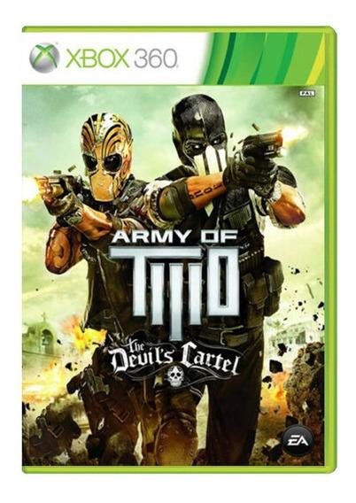 Army Of Two - Xbox 360 - Usado - Original - Mídia Física