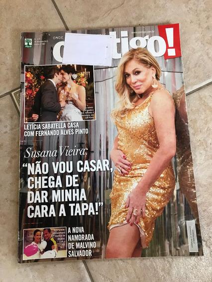 Revista Contigo Susana Vieira Letícia Sabatella Ana Lima