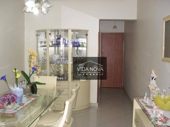 Apartamento À Venda, Centro, São Vicente.ref-ap1936 - Ap1936