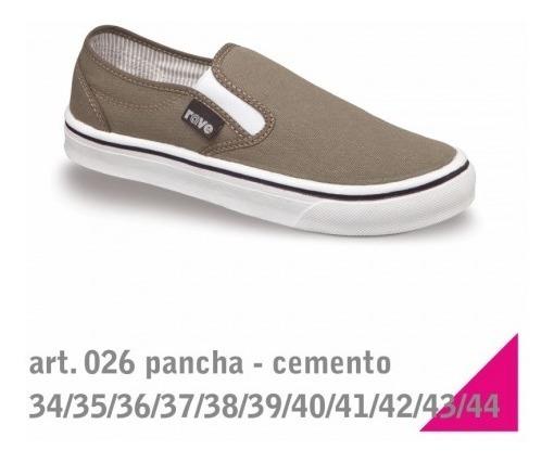 Pancha De Hombre/mujer/unisex Talle 34 Al 44 - Calzados Rave