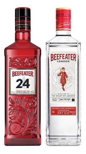 Combo Gin Beefeater 24 London Dry + Gin Beefeater Original