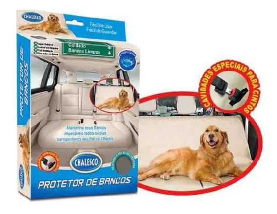 Capa Protetora Para Banco Cachorro Gato Impermeável Pet Cães