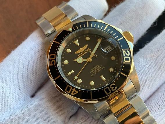 Relógio Invicta Pro Diver Automatic Gold Plated 8927
