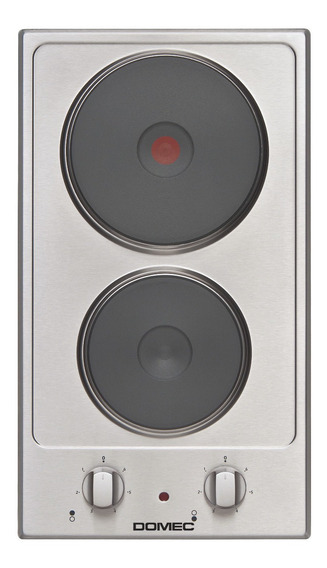 Anafe Electrico Domec Ge30 2 Hornallas Acero Selectogar6