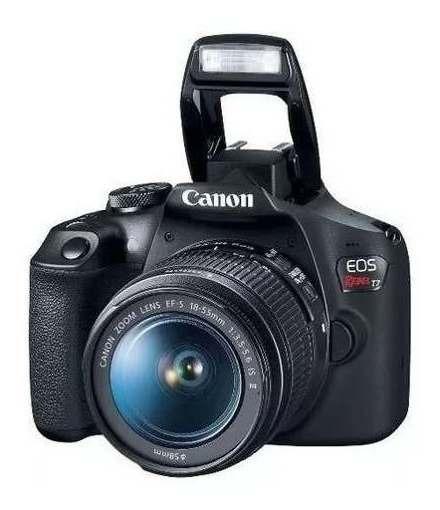 Câmera Canon Eos Rebel T7 + Bolsa +mini Tripé + Cartão 32gb
