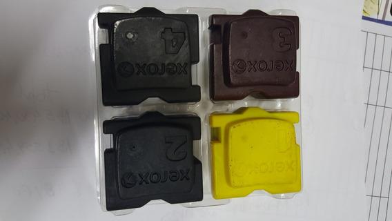 Kit Completo Bastões Cera Original Xerox 8570/8580 Bk/c/y/m