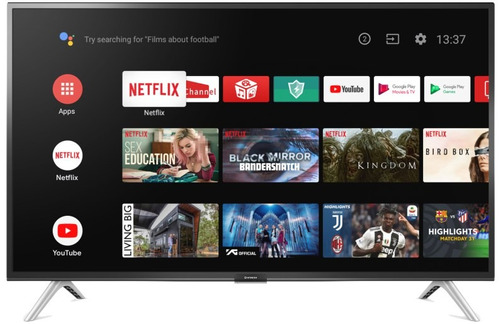 Smart Tv 32 Hitachi Cdh Le32smart17 Android Tv Netflix Tda