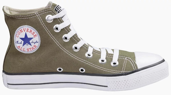 Tenis All Star Cano Alto Verde