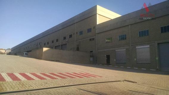 Galpão Industrial Para Locação, Centro, Embu Das Artes. - Ga0084