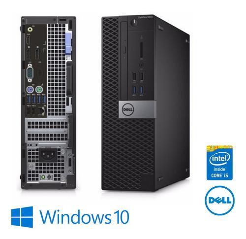Imagem 1 de 4 de Cpu Mini Dell Core I5 6500 4gb Ddr3 Hd 2tb Win10 + Brindes !