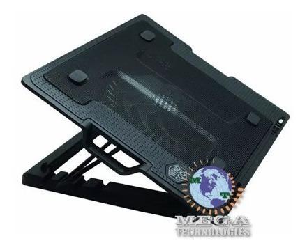 Imagen 1 de 7 de Cooler Ventilador Base Enfriadora Reclinable Laptop Notebook