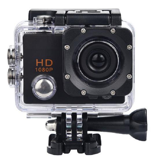 Câmera Filmadora Esportiva Action 1080p Prova Dágua
