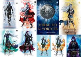 Coleção Trono De Vidro + Torre Do Alvorecer 9 Livros