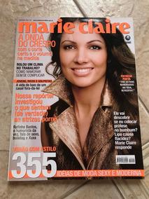 Revista Marie Claire 209 Patrícia Poeta Rafinha Bastos