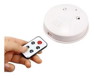 Cámara Espía Hd Simula Detector Humo Graba Video Mini