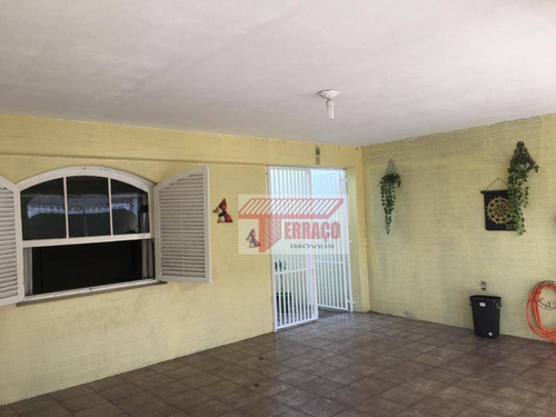 Casa Com 2 Dormitórios À Venda, 162 M² Por R$ 450.000,00 - Vila Linda - Santo André/sp - Ca0869