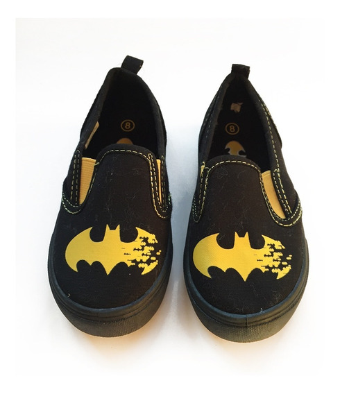 Zapato Pancha Alpargata Batman Talle 24 Nene - Como Nuevo