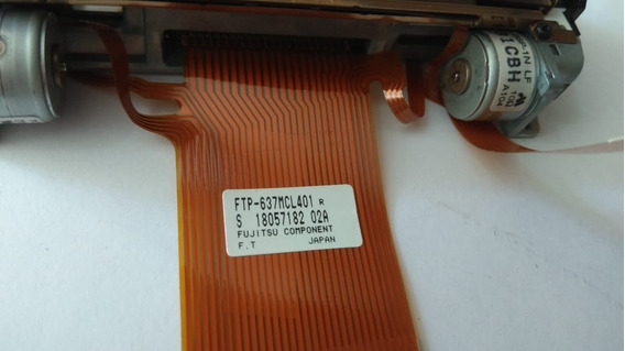 Ftp-637mcl401 Cabeca De Impressao Fujitsu