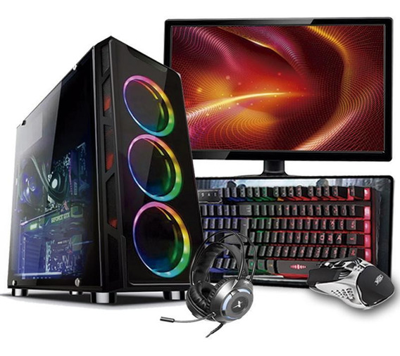 Pc Gamer Completo I5 9ºger Gtx 1660 6gb 16gb Hd 1tb Ssd 480
