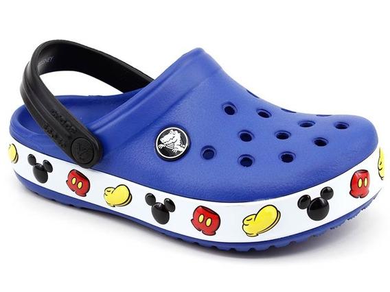 Crocs Crocband Infantil Mickey Clog Azul Loja Pixolé