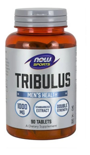 Tribulus, 1.000 Mg, 90 Tabletes, Now Sports, Original U S A