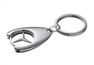 Llavero Genuino De Mercedes Benz Shopping Con