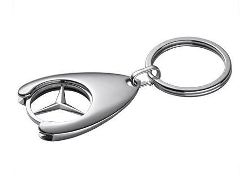 Llavero Genuino De Mercedes Benz Shopping Con
