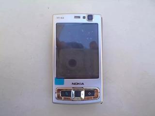 Nokia N95 8gb Prata Wifi Foto Video Mp3 Mp4 Cam 8mp Nacional