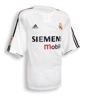 Camiseta Real Madrid 2004 Roberto Carlos