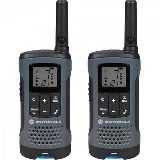 Rádio Comunicador Motorola Talkabout 32km T200br Cinza -c/2