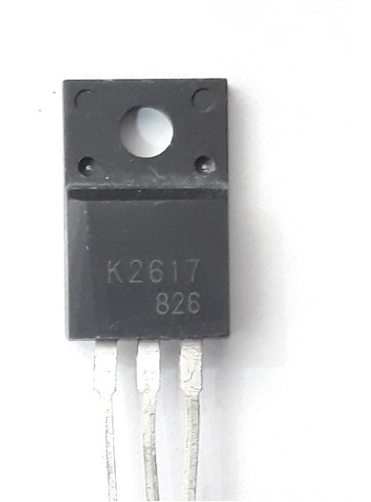 Componente 2sk2617 K2617 N-canal To-220f 500v 5 Amperes