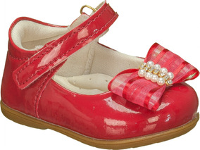 53bc1bc4fd Sapato Infantil Vermelho De Verniz - Sapatos no Mercado Livre Brasil