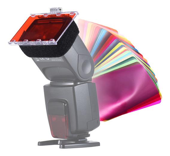 Falconeyes Cfa-30k Kit De Gel De Filtro De Cor Speedlite Com