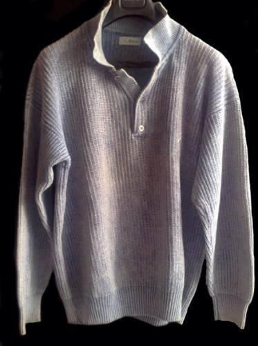 Sweater De Hilo Gastado (xxl)