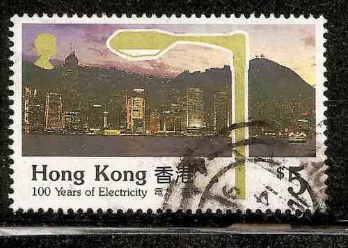 Hong Kong China Año 1990 Yvert 623