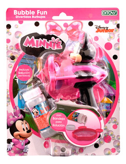 Minnie Burbujero Bubble Fun Original Ditoys