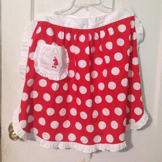 Delantal De Cocina Minnie Disney Store Adulto Mujer