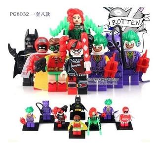Lego Batman Juguete Didáctico Figuras X8 Juguetería Bonitos