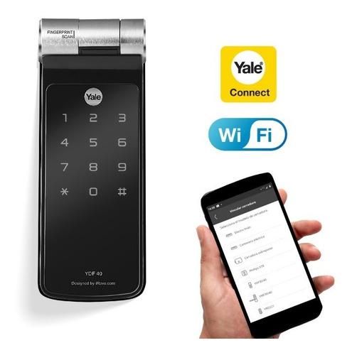 Cerrojo Digital De Huella Ydf40 Yale + Kit De Conectividad