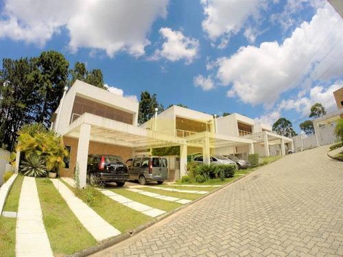 Casa Com 3 Dormitórios À Venda, 185 M² Por R$ 850.000 - Granja Viana - Cotia/sp - Ca2937