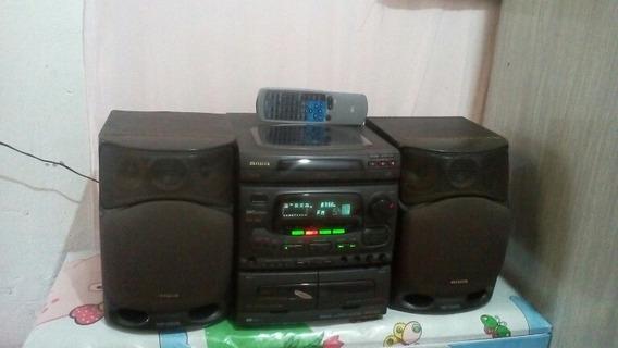 Som Aiwa Nsx-520 Som Com Surround.